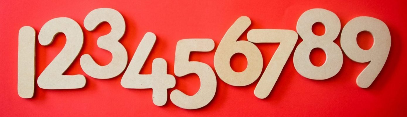Image of numbers 1-9, courtesy of Shutterstock.
